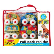 Melissa & Doug Melissa & Doug K's Kids Pull-Back Town Vehicles