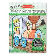 Melissa & Doug Melissa & Doug My First Paint with Water Pad - Vehicles