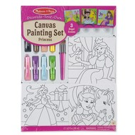 Melissa & Doug Melissa & Doug Decorate Your Own Canvas Painting Set Princess