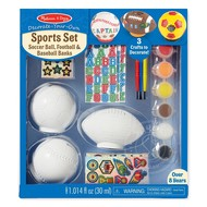 Melissa & Doug Melissa & Doug Decorate Your Own Sports Set