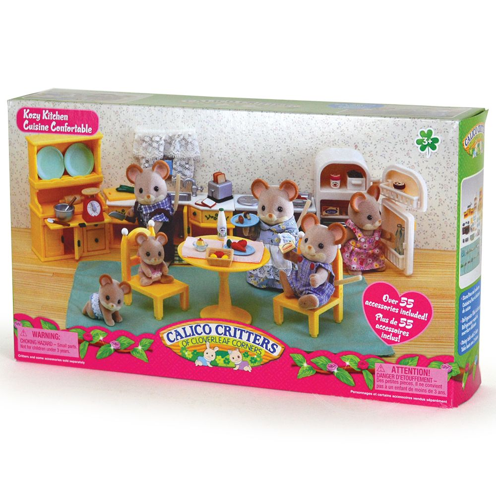 Calico Critters Kozy Kitchen Set - 's Toys & Learning Co on wb kitchen, in the kitchen, og kitchen, moh kitchen, uv kitchen, miliband kitchen, el kitchen,