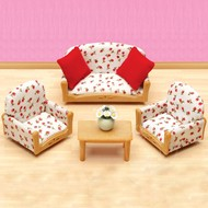 Calico Critters Calico Critters Living Room Suite RETIRED