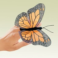 Folkmanis Folkmanis Monarch Butterfly Finger Puppet