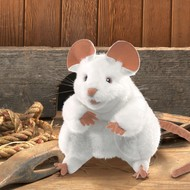 Folkmanis Folkmanis White Mouse Puppet
