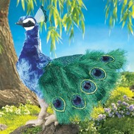 Folkmanis Folkmanis Peacock Puppet