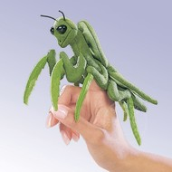 Folkmanis Folkmanis Praying Mantis Finger Puppet