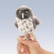 Folkmanis Folkmanis Spotted Owl Finger Puppet