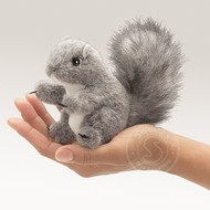 Folkmanis Folkmanis Gray Squirrel Finger Puppet