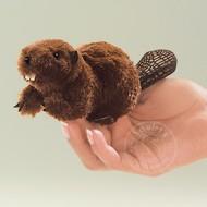 Folkmanis Folkmanis Beaver Finger Puppet