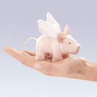 Folkmanis Folkmanis Winged Piglet Finger Puppet