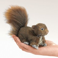Folkmanis Folkmanis Red Squirrel Finger Puppet