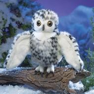 Folkmanis Folkmanis Small Snowy Owl Puppet