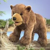 Folkmanis Folkmanis Brown Bear Cub Puppet
