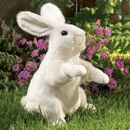 Folkmanis Folkmanis White Rabbit Standing Puppet