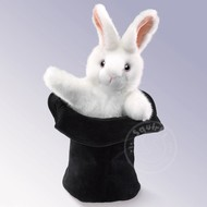 Folkmanis Folkmanis Rabbit in Hat Puppet