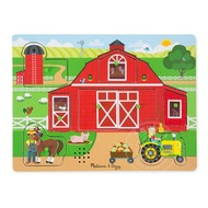 Melissa & Doug Melissa & Doug Around the Farm Sound Peg Puzzle