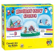Creativity for Kids Creativity for Kids Make Your Own Holiday Snow Globes