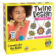 Creativity for Kids Creativity for Kids Twine Design Jewelry_