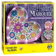 Creativity for Kids Creativity for Kids Light-Up Heart Marquee