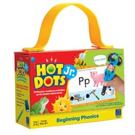 Educational Insights Hot Dots Jr. Flash Cards Beginning Phonics