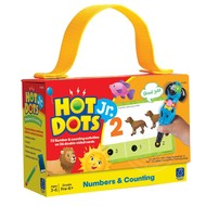 Educational Insights Hot Dots Jr. Flash Cards Numbers & Counting