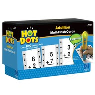 Educational Insights Hot Dots Flash Cards Addition Facts 0-9 _