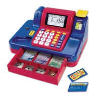 Learning Resources Pretend & Play Teaching Cash Register with Canadian Money Currency