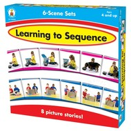 Carson Dellosa Learning to Sequence 6-Scene Sets