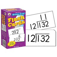 Carson Dellosa Division 0-12 Flash Cards