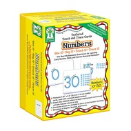 Key Education Touch & Trace Cards Numbers Textured