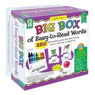 Key Education Big Box of Easy to Read Words