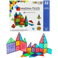 Magna-Tiles Magna-Tiles® Clear Colors 32 Piece Set