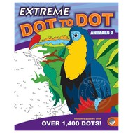MindWare Mindware Extreme Dot to Dot Animals 2