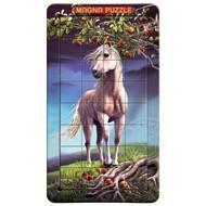 Magna 3D Horse Magnetic Lenticular Puzzle 32pcs