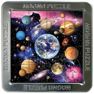Magna 3D Outer Space Magnetic Lenticular Puzzle 16pcs