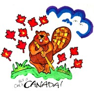 Artburn Pillow Case Painting Kit - This is Canada (Beaver)