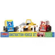 Melissa & Doug Melissa & Doug Construction Vehicle Set