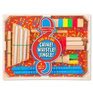 Melissa & Doug Melissa & Doug Band in a Box  Chime! Whistle! Jingle! _