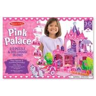 Melissa & Doug Melissa & Doug 3D Puzzle Pink Palace