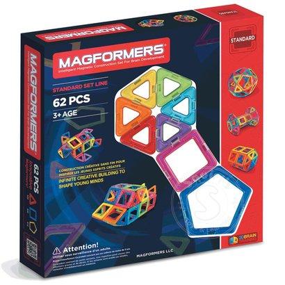 Magformers Magformers Standard Magnetic Building Set 62pcs