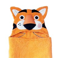 Zoocchini Travis the Tiger Toddler Hooded Towel