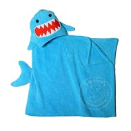 Zoocchini Sherman the Shark Toddler Hooded Towel