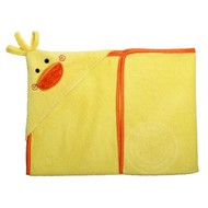 Zoocchini Puddles the Duck Baby Hooded Towel