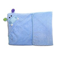 Zoocchini Henry the Hippo Baby Hooded Towel