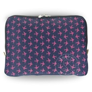 Yumbox YumBox Poche Insulated Sleeve - Navy with Bird Print _