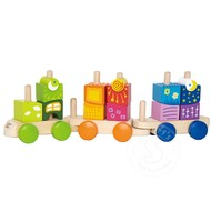 Hape Hape Fantasia Blocks Train