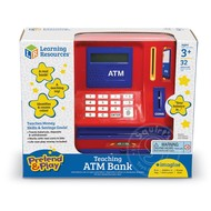 Learning Resources Teaching ATM Bank with Canadian Money