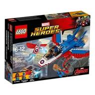 LEGO® LEGO® Super Heroes Captain America Jet Pursuit