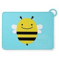 SkipHop SkipHop Zoo Fold & Go Silicone Placemat - Bee