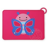SkipHop SkipHop Zoo Fold & Go Silicone Placemat - Butterfly